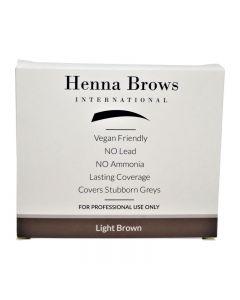 Henna Brows Powder Light Brown 10g