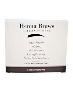 Henna Brows Powder Medium Brown 10g