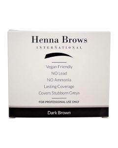 Henna Brows Powder Dark Brown 10g
