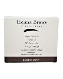 Henna Brows powder Chestnut brown 10g