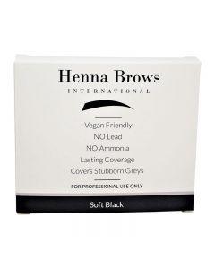 Henna Brows Powder Soft Black 10g