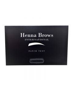 Henna Brows Patch Test x 20