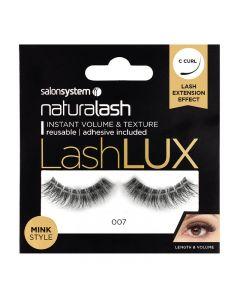 Salon System Naturalash Lashlux 007 Mink Style Strip Lashes