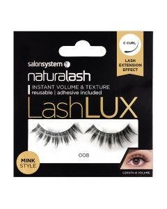 Salon System Naturalash Lashlux 008 Mink Style Strip Lashes