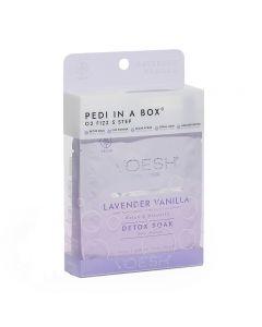 Voesh Pedi In A Box O2 Fizz Lavender Vanilla