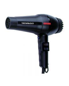 Parlux Twin Turbo 2600 Black Hairdryer  (1700w)