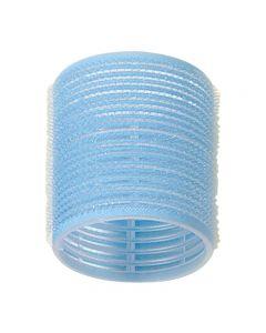 Jumbo Velcro Rollers Light Blue 56mm x 6