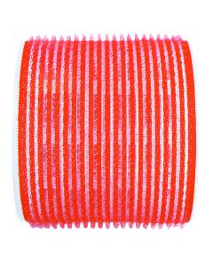 Jumbo Velcro Rollers Red 70mm x 6