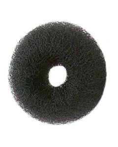 Synthetic Hair Bun Ring Black