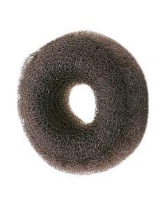 Synthetic Hair Bun Ring Dark Brown