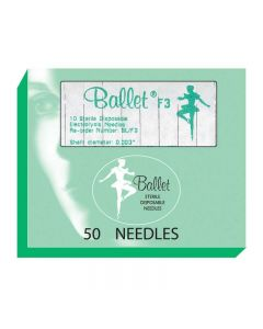 Ballet Stainless Steel Needles F5 005 (x50)