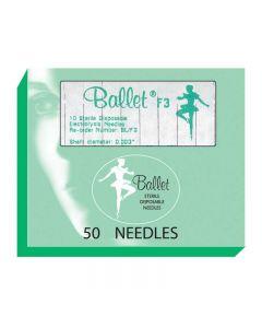 Ballet Stainless Steel Needles F3 003 (x50)