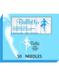 Ballet Insulated Needles F2 002 (x50)