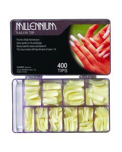 Millennium Salon Gold Tips Box of 400