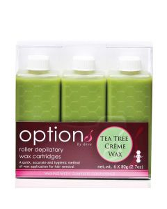 Hive Roller Depilatory Refills Tea Tree Creme Wax (6x80g)