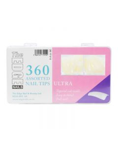 The Edge Ultra Tips x 360 Assorted (Boxed)