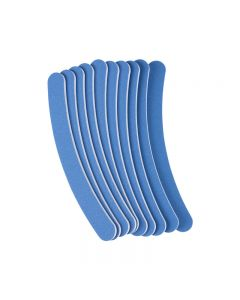 The Edge Blue Curved File 120/220 Grit (Pack of 10)