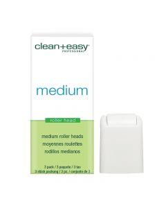 Clean + Easy Bikini Medium Roller Head (x3)