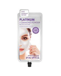 Skin Republic Platinum Peel Off Face Mask 27ml (3 Uses)