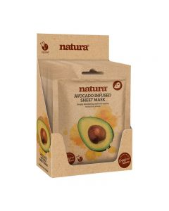 BeautyPro Natura AVOCADO INFUSED Sheet Mask