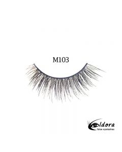 Eldora Multi-Layered Strip Lashes M103