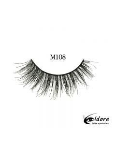 Eldora Multi-Layered Strip Lashes M108