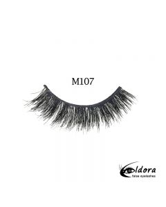 Eldora Multi-Layered Strip Lashes M107