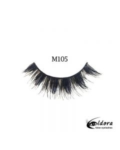 Eldora Multi-Layered Strip Lashes M105
