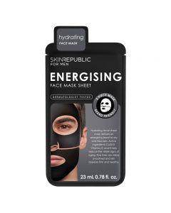 Skin Republic Mens Energising Face Mask Sheet 23ml