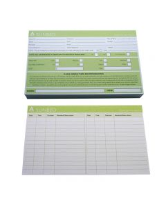 Agenda Record Cards Sunbed x 100