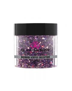 Glam and Glits Diamond Acrylic Collection Purple Vixen 28g