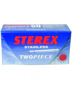 Sterex Stainless Steel Two Piece Needles F3S
