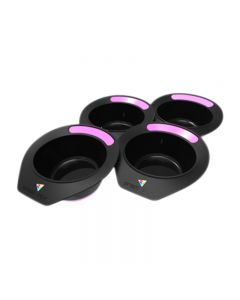 Prism Pot Pretty Precious Pink Pack of 4 Tint Bowls