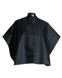 Salons Direct Extra Protective Shoulder Cape Black