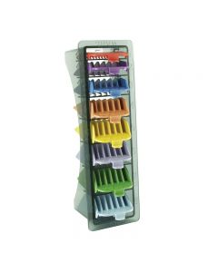 Wahl Comb Set with Storage Tray - Colour Coded