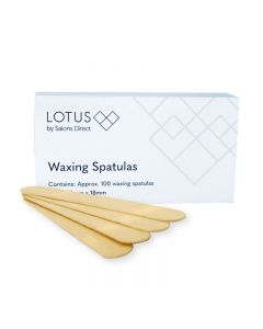 Lotus Wax Spatulas x 100