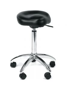 REM Mustang Stylist Stool Black