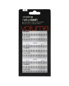 Salon System Salon Value Individual Lashes Black Long