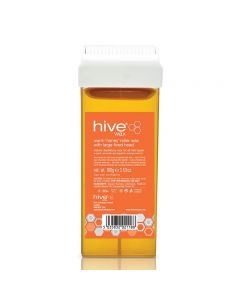 Hive Roller Refills Warm Honey Wax 100g Large Fixed Head