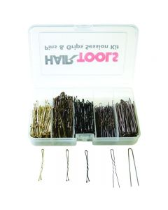 Hair Tools Pins and Grips Session Kit