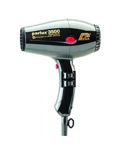 Parlux 3500 SuperCompact Ceramic & Ionic Edition Black Hairdryer (2000w)