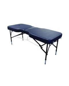 Affinity 8 Advanced Portable Massage Couch - Navy
