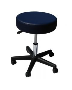 Affinity Rolling Stool - Navy