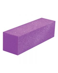 Lotus Purple Glitter Sanding Block x 1