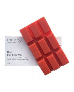 Lotus Hot Film Wax Red 500g