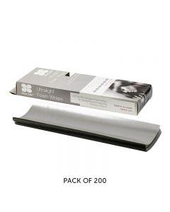 Procare Ultralight Foam Wraps Silver 10cm x 30cm 200 Sheets