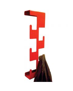 Vertical Coat Rack Red