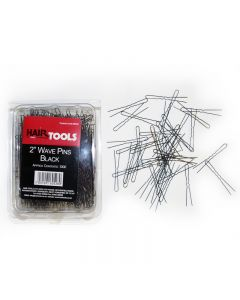 "Hair Tools 2"" Wave Pins Black x 1000"