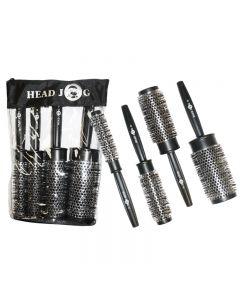 Head Jog Heat Retaining Quad Brush Set