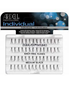 Ardell Naturals Individual knot Free Flare Lashes Medium Black